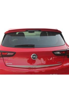 Spider Opel Astra K Bagaj Alt Çıtası Paslanmaz Çelik 2015 Üzeri Modeller