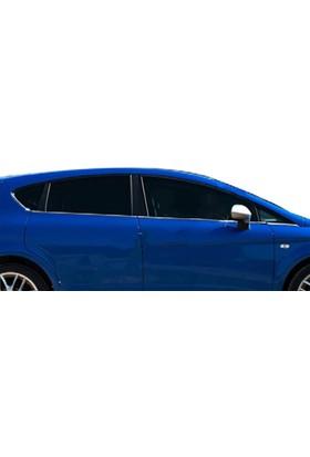 Spider Seat Leon 2 Facelift Cam Çıtası 6 Parça Paslanmaz Çelik 2009-2012 Modeller