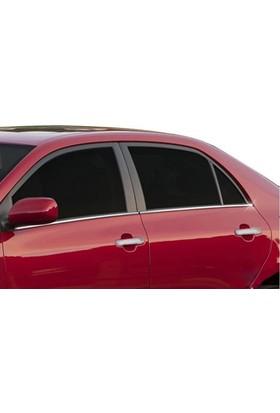Spider Toyota Corolla 11 E170 Cam Çıtası 4 Parça Paslanmaz Çelik 2014 Üzeri Modeller