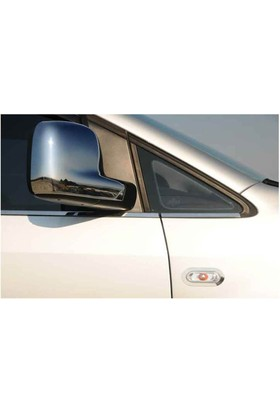 Spider Volkswagen Caddy Ayna Kapağı 2 Parça Abs Krom 2010-2014 Modeller