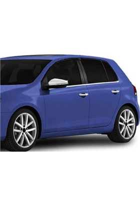 Spider Volkswagen Golf 6 Cam Çıtası 4 Parça Paslanmaz Çelik 2009-2012 Modeller