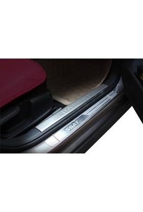 Spider Volkswagen Passat B7 İç Kapı Eşiği 4 Parça Paslanmaz Çelik 2012-2014 Modeller