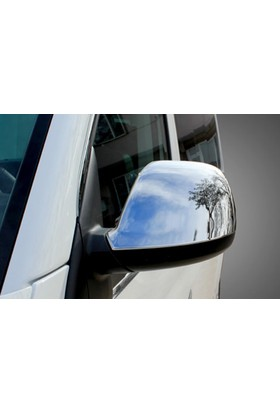 Spider Volkswagen T5 Caravelle Ayna Kapağı 2 Parça Abs Krom İng Versiyon 2003-2010 Modeller