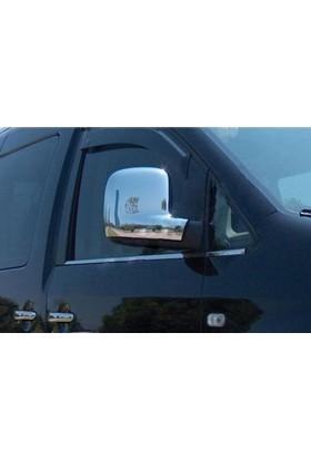 Spider Volkswagen T5 Transporter Ayna Kapağı 2 Parça Abs Krom İng Versiyon 2003-2010 Modeller