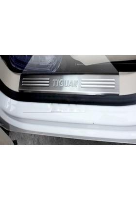 Spider Volkswagen Tiguan İç Kapı Eşiği 4 Parça Paslanmaz Çelik 2007 Üzeri Modeller