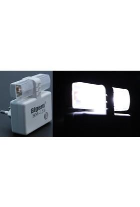 Bigem 6'lı Paket Piranha Ledli Sensörlü Gece Lambası 091164