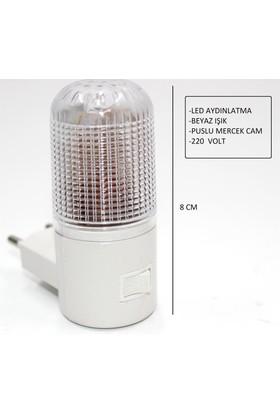 Homecare 6'lı Paket 4 Ledli Gece Lambası 091867