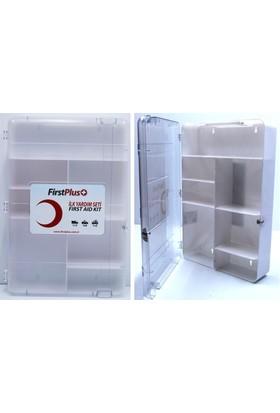 Firstplus 6'lı Paket Boş Ecza Dolabı Transparan 091752