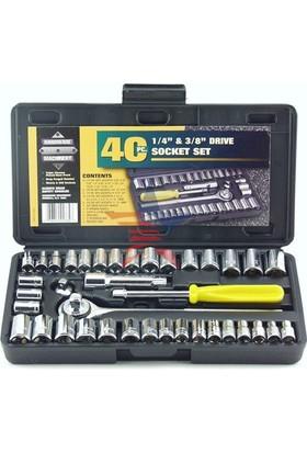 Aiwa 6'lı Paket 40 Parça Cırcırlı Lokma Seti Özel Çantalı 441180