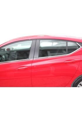 Spider Opel Astra K Cam Çıtası 8 Parça Paslanmaz Çelik 2015 Üzeri Modeller