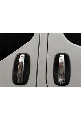 Spider Renault Traffic 2 Kapı Kolu 3 Kapı Paslanmaz Çelik 2001-2014 Modeller