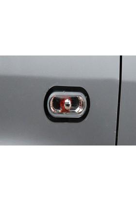 Spider Volkswagen T5 Caravelle Sinyal Çerçevesi 2 Parça Paslanmaz Çelik 2003-2010 Modeller
