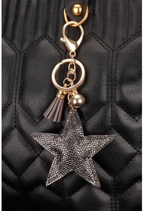 Modahills Yıldız Figürlü Parlak Taşlı Anahtarlık AN140