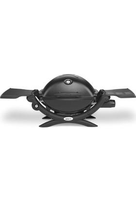 Weber Q1200 Sıyah Yan Tezgahlı Gazlı Mangal
