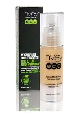 Nvey Eco Organic Moisturising Liguid Foundation 30 ml-Nemlendirici Likit Fondöten 512 Beige