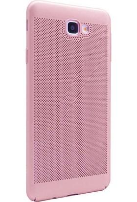 KılıfShop Samsung Galaxy J7 Prime Delikli Sert Kılıf