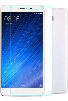 KılıfShop Xiaomi Mi5 S Plus Silikon Kılıf + Ekran Koruyucu