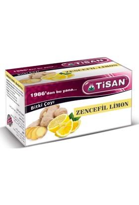 Tisan Zencefil Limon Çayı