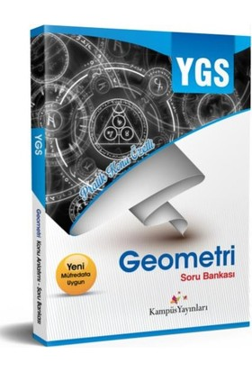 Kampüs YGS Geometri Soru Bankası