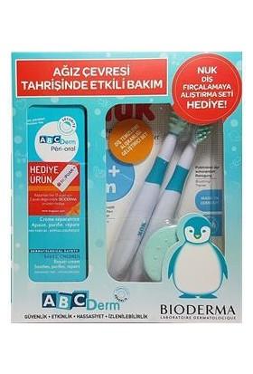 Bioderma ABCDerm Peri Oral 40 ml + Nuk Diş Fırçalama Alıştırma Seti