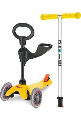 Micro Scooter Mini Micro 3 in 1 Deluxe Yellow
