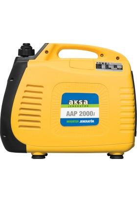 Aksa AAP-2000İ Benzinli Inverter Jeneratör 2kVA (4 Zamanlı Motor)