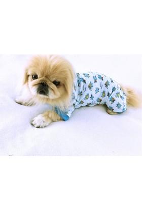 Kemique Mavi Penye Tulum - Pyjamas By Kemique