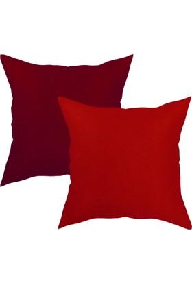 Textilla Yastık&Kırlent 2 Li Kombin
