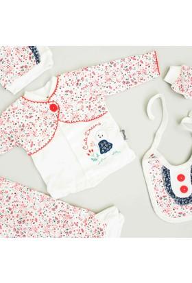 Nenny Bebe Kız Bebek Hastane Çıkışı Yeni Doğan Seti Antialerjik 5'li N14Zk716