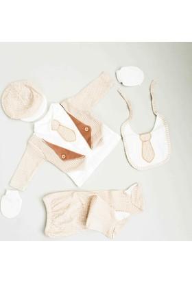 Nenny Bebe Erkek Bebek Hastane Çıkışı Yeni Doğan Seti Antialerjik 5'li 18Z705