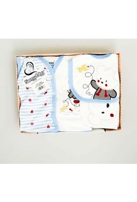 Nenny Bebe Erkek Bebek Hastane Çıkışı Yeni Doğan Seti Antialerjik 5'li 20Z713