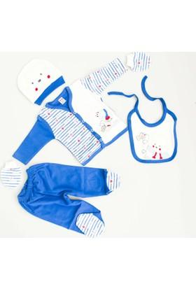Nenny Bebe Erkek Bebek Hastane Çıkışı Yeni Doğan Seti Antialerjik 5'li 21T713