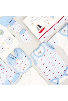 Nenny Bebe Erkek Bebek Hastane Çıkışı Yeni Doğan Seti Antialerjik 10'lu N34