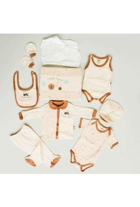 Nenny Bebe Organik Bebek Hastane Çıkışı Yeni Doğan Seti Antialerjik 10'lu N61