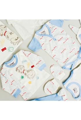 Nenny Bebe Erkek Bebek Hastane Çıkışı Yeni Doğan Seti Antialerjik 10'lu N64