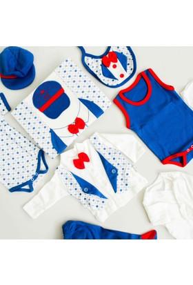 Nenny Bebe Erkek Bebek Hastane Çıkışı Yeni Doğan Seti Antialerjik 10'lu N66