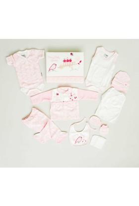 Nenny Bebe Kız Hastane Çıkışı Yeni Doğan Seti Antialerjik 10'lu N72