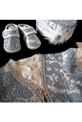 Tafyy Erkek Bebek Mevlüt Takımı Seti Hastane Çıkışı 6 Parça 050B Ottoman - Blue