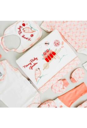 Nenny Bebe Kız Bebek Hastane Çıkışı Yeni Doğan Seti Antialerjik 10'lu N43