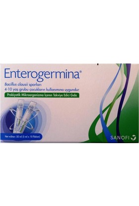 Sanofi Enterogermina 50Ml. 5Ml X 10 Flacon