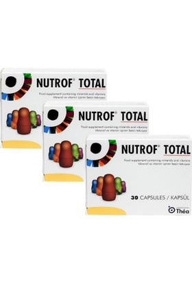 Thea Nutrof Total 30 Kapsül - 3 Adet