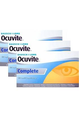 Bausch Lomb Ocuvite Complete 60 Kapsül - 3 Adet