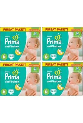 Prima Fırsat Paketi 6 Numara Extra Large 15+ Kg 192 Adet