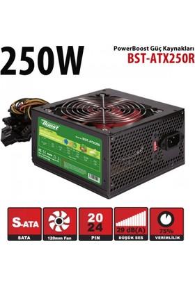 Powerboost ATX Serisi 250W 2xSATA, 2xHDD, 12cm fanlı Bilgisayar Güç Kaynağı (Power Supply)