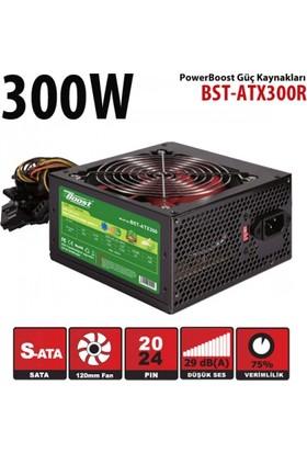 Powerboost ATX Serisi 300W 2xSATA, 3xHDD, 12cm fanlı Bilgisayar Güç Kaynağı (Power Supply)