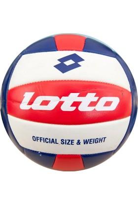 Lotto Voleybol Topu Kırmızı - Lacivert - Beyaz - EK 146