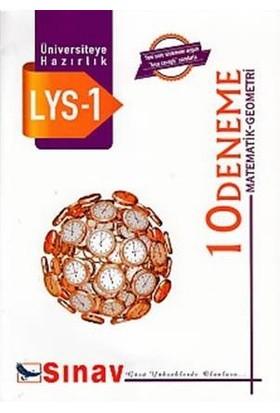 Sınav LYS 1 (Matematik-Geometri) 10 Deneme