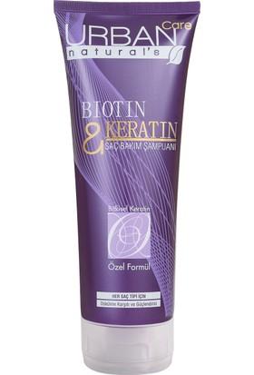 URBAN Care Biotin Keratin Dökülme Karşıtı ve Güçlendirici Saç Bakım Şampuanı- 200ml