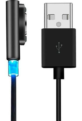 Case 4U Sony Xperia Serisi Manyetik Hızlı Şarj Kablosu (Z1, Z1 Compact, Z2, Z3 ,Z3 Compact , Z Ultra, Z5, Z5 Premium)