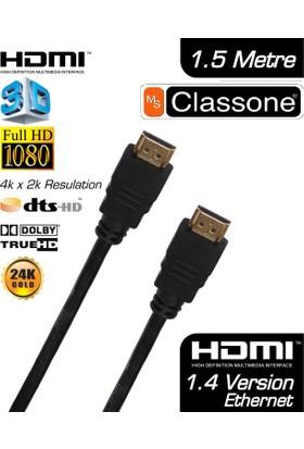 Classone CHDMI 1.4v 1.5 Metre HDMI Kablo